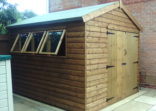 Model Jay Timber Shed