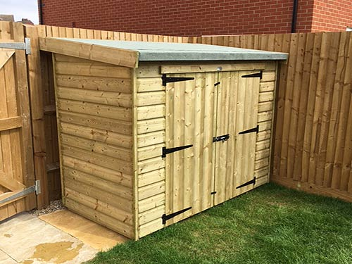 Mini Garden Building Shed