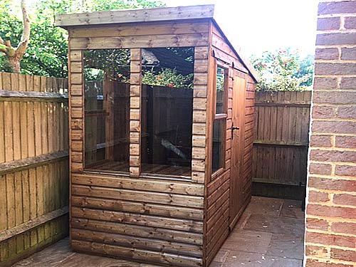 Potting Garden Shed
