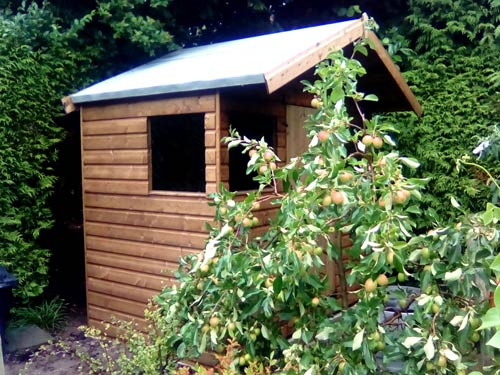 Sparrow Model Garden Timber Building