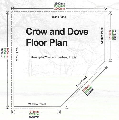 Crow Pent Range Floor Plan