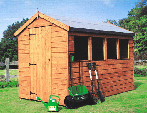 Apex Range - Model  Jay -  Garden Shed
