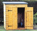 Topwood Garden Mini Shed