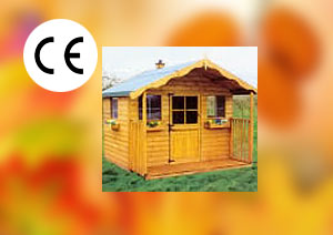 Childrens Garden Timber Play house Play House