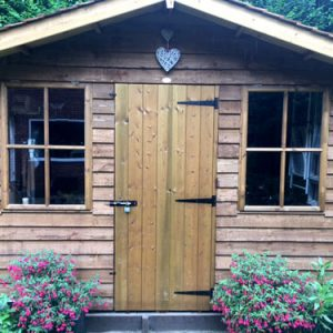 Robin Timber Garden Shed