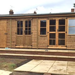 Sectional Garden Timber Shed Building