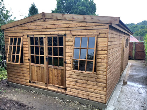 SecSectional Garden Timber Shedstional Garden Timber Shed Building