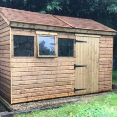 Sectional Garden Timber Sheds