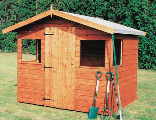 Apex Range - Model  Sparrow -  Garden Shed