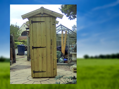 Mini Shed Tall Store Unit