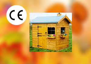 Childrens Garden Timber Play house Wendy House