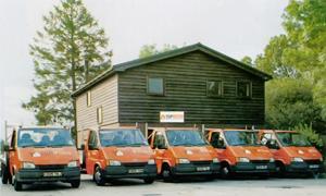 Top Garden Buildings Ltd Transport Vans