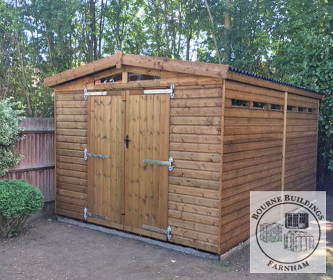 Exclusive Range Bourne Buildings Garden Sheds
