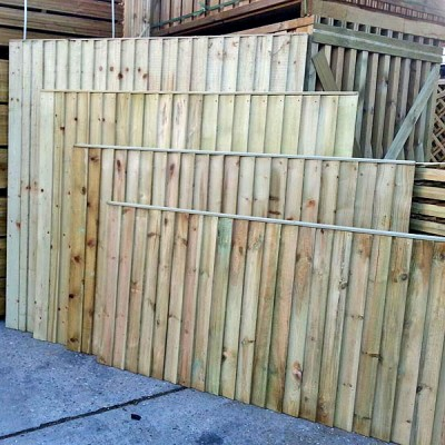 Featheredge Fencing Panels