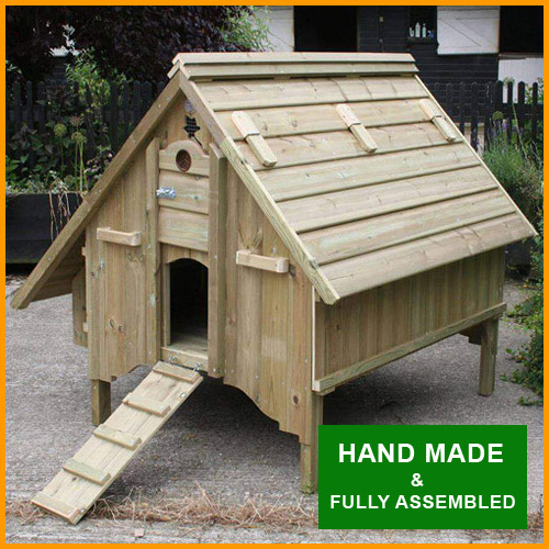 Chicken House - Haydock Model