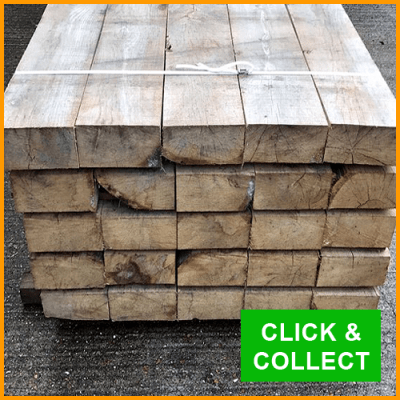 Oak Timber Sleepers For Sale