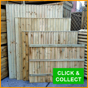 Timber Fence Panels For Sale