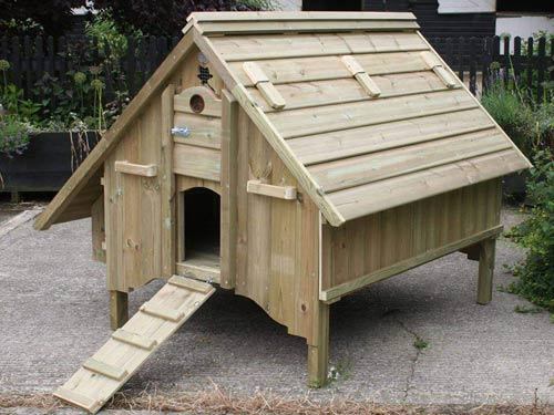 Handmade Chicken House