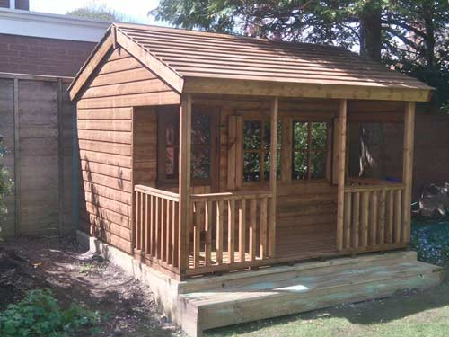 Childrens Ranch House 8x8ft