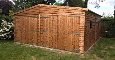 Sectional Timber Building