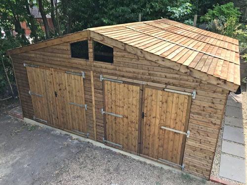 20x20 Double Garage & Workshop