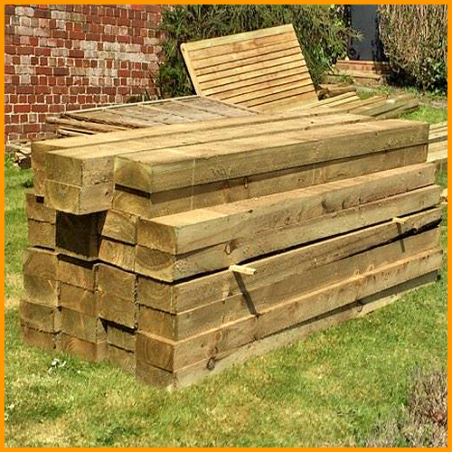 Softwood Garden Sleepers