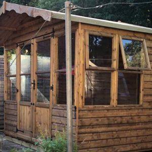 Garden Summer House 6x8m