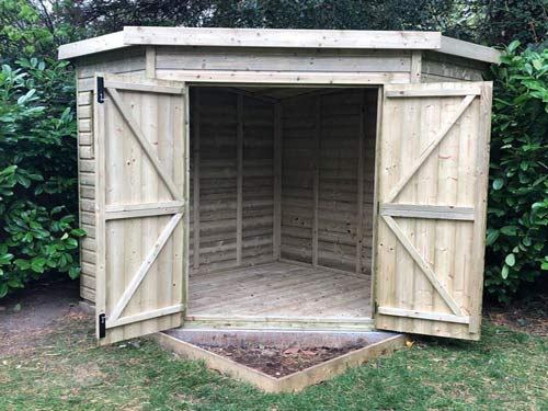 Garden Building 7x7m Crow Model