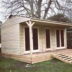 Garden Timber Summer House