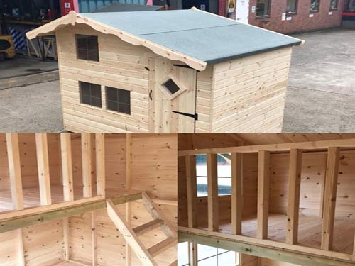 Childrens Timber Playhouse
