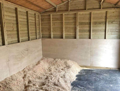 Bespoke Made Wooden Stables