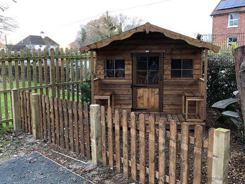 Childrens Timber Play Houses Kids Garden Timber Buildings