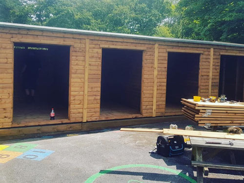 Sectional Building 26x12ft