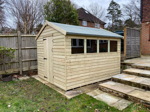 Jay Shed 10x8 Apex