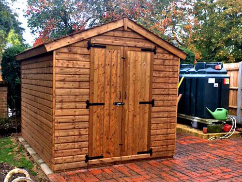 Jay Shed 10x8 Rustic Roof