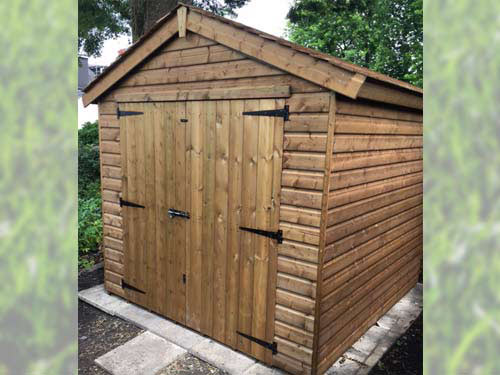 Jay 7x7 Rustic Roof
