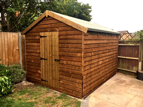 Apex Range - Model  Robin -  Garden Shed
