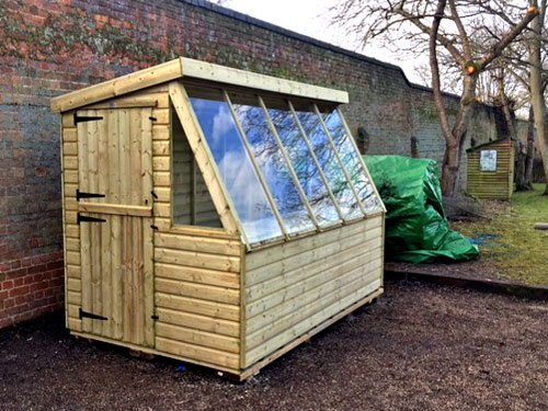Jackdaw Garden Solar Shed