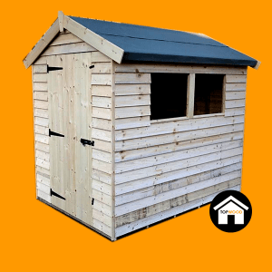Featheredge Apex Garden Shed